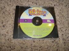 50 Free Print & Play Games (PC, 2006) Near Mint Game