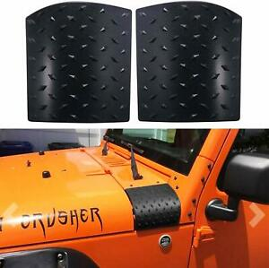Side Hood Body Armor Cowl Cover Fit for Jeep Wrangler JK 2007-2018 Accessories