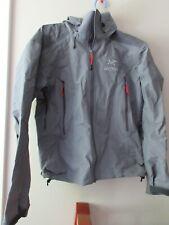 Mens Used Arcteryx Beta AR Jacket Size Small Color Anvil Grey