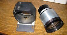 Vintage Microscope Lens Made In England Lense Blue f0-8 M=02 Blue MI 557225