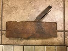 "Short Antique WOOD WOODEN CHAIR STAIR HAND RAIL Plane Complex Woodworking 8"""