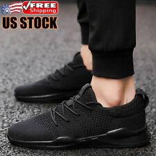 Men's Athletic Sneakers Lightweight Running Jogging Walking Shoes Tennis Sports