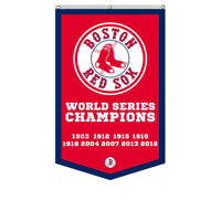 Boston Red Sox 2018 World Series Champions Banner Flag  30x50 Inch