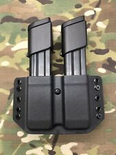Black Kydex Dual Magazine Carrier for FN 509