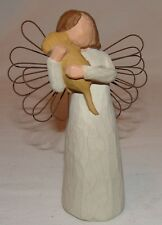 Willow Tree Angel of Friendship Statue Figure Figurine Susan Lordi Puppy Dog
