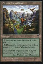 MTG Magic - Visions -  Canyon des Griffons -  Rare VF