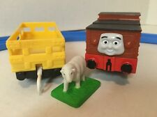 Thomas Trackmaster STAFFORD +FARMER McCOLLS SHEEP CAR Motorized Train Engine Lot
