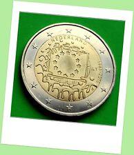 2 Euro Gedenkmünze Niederlande 2015  Gemeinschaftsausgabe 30 Jahre Europa Flagge