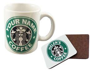 PERSONALISED STARBUCKS MUG COFFEE CUP GIFT ANY NAME BIRTHDAY