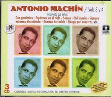 Antonio Machin  VOL 3 Y 4  BRAND NEW SEALED 3 CDS SET BOX
