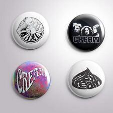 4 CREAM - Pinbacks Badge Button Pin 25mm 1''