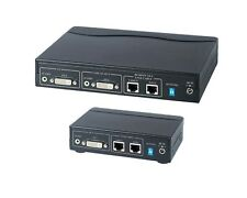 DVI & Audio Extender up to 50m over CAT5 Cable with DVI & audio local loop out