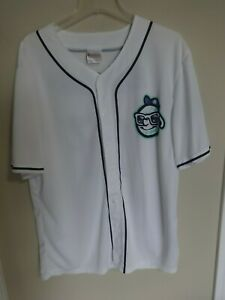 2017 MiLB Asheville Tourists SGA Button Front Baseball Jersey Men XL White