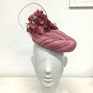Kathryn Neumann Millinery 2015 Pink Spring Racing Hat #327