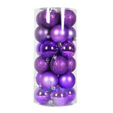 24pcs Christmas Tree Large Balls Decorations Baubles Party Wedding Hang Ornament