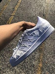 Men's adidas Originals Superstar ED BANGER RECORDS Rare White FZ5524 SIZE 9.5