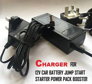 Power Adapter for Halfords Power Pack 100 Powerpack 200 Booster, 5.5*2.5