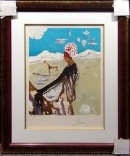 Salvador Dali The Earth Goddess Hand Signed Original Lithograph Make an Offer