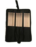 Drum Stick Bag Case Durable Black Polyester Zippered Stick Bag w/Outside Pocket