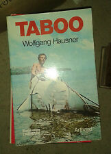HAUSNER Wolfgang. Taboo. Arthaud. 1977. Catamaran.
