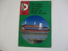 SYSTEME D N°247 7/1966 SIEGE A CHALEUR FOURNIT DE L'EAU CHAUDE AMENAGEMENT CHAMB