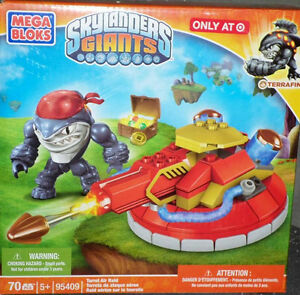 Skylanders Giants Mega Bloks Terrafin Turret Air Raid (Target) STORE EXCLUSIVE