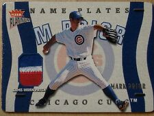 MARK PRIOR -  2003 FLEER 3 COLOR NAMEPLATE PATCH    #113/123