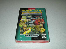 Street Fighter II Special Champion Edition Sega Genesis Sealed FREE SHIPPING
