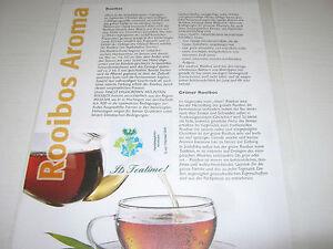 "arom. Rooibostee, lose ""Cool African Ice Tea"" (32,50€/kg); MHD  23 Monate"