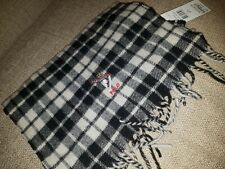 BNWT Polo Ralph Lauren  Check Ski Bear Scarf   wool blend