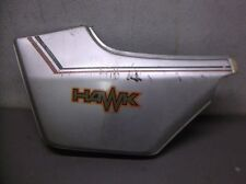 Used Left Side Cover for a 1980 to 1981 Honda CB400T Nighthawk