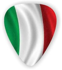 10 Italy ~ Italian Flag ~ Guitar Picks  Plectra  Printed Both Sides