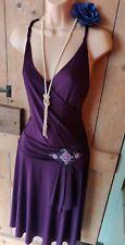 BNWT Vintage 20s 30s Purple Flapper Gatsby Charleston Party Wedding Dress 12