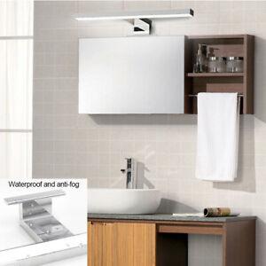 Bathroom LED Anti-fog Mirror Front Make-up Wall Light Toilet Vanity Lamp Modern