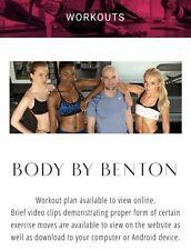 John Benton Model Workout Full Package + food plan highlights