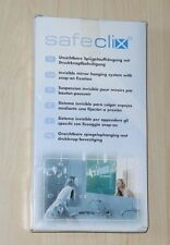 Spiegelaufhängung - verdeckte Spiegelhalterung - Safeclix 26 bis 2,6 qm