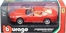 FERRARI MARANELLO 550 1:24 Scale Diecast Car Model Die Cast Cars Models Red
