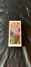 New listing Mikasa Clear Glass Bottle Stopper Fruit Collection Austria Nib (A16)