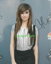 Christina Grimmie of The Voice reprint signed autographed photo #2 RP