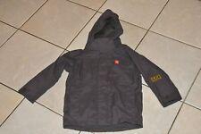 Blue green Waterproof mac // coat Age 2-7 years Trespass packa jacket New