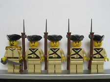 Lego PIRATES NAPOLEONIC WARS BRITISH India Colonial Infantry Soldiers MINIFIGS