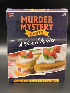 A Slice of Murder - Murder Mystery Party Game University Games -  6 To 8 Players