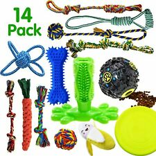 New listing Sharlovy Dog Chew Toys for Puppies Teething, 14 Pack Dog Rope Toys Tug of War Do