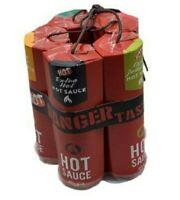 Dynamite Hot Chilli Sauce 5 Bottle Extreme Chillis Sauces Secret Santa Gift Set
