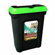 30l  Dried Pet Food Bird Seed Storage Bin Container 15kg Kingfisher (1 Supplied)