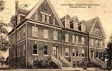 Alpha Hall at Elizabethtown College in Elizabethtown Pa 1926