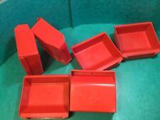 """Linbin X6 Original red small Classic car part storage,WPB/0/3 4""""x 3 1/2"""" X1 1/2"""""""