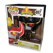 "Funko Pop Power Ranger Megazord Black Gold 2018 Morphincon Exclusive 6"" #497"