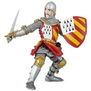 Papo Knight Figure in Tournament Pose Knights & Historical Figures 39800 Ages 3+