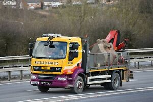 Truck Photos Ruttle Plant (Tyre Services) DAF LF dropside body RX13 LYA